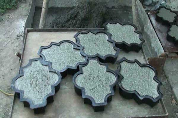Технология изготовления брусчатки своими руками